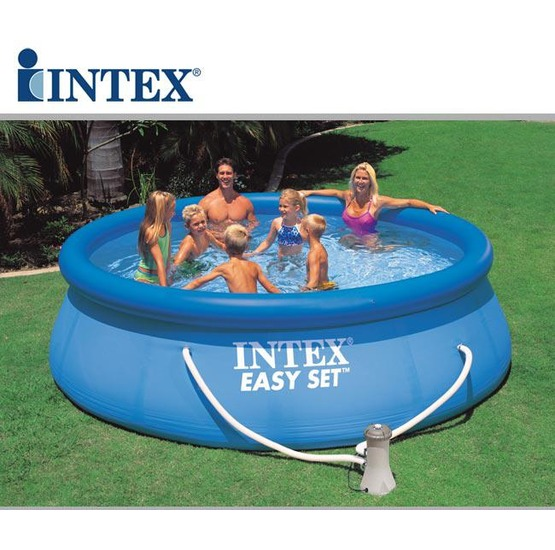Piscina hinchable intex easy set 366x91 cm for Accesorios para piscinas intex
